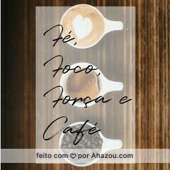 Nada como um bom café para começar o dia! #foco #cafe #ahazou