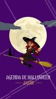 Já garantiu o seu horário para curtir o Halloween? Agende agora mesmo! 👻 #diadasbruxas #ahazou #beleza #agenda