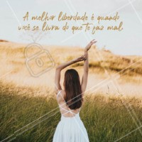 Eu só quero uma vida livre, leve e alegre! ✨ #motivacional #ahazou #frases