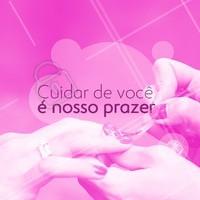 Amamos o que fazemos, E o que fazemos é cuidar de você! 💅  #clientes #ahazou #unhas #manicure