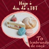 Eita TBT bom, hein? Mas não precisa ser TBT não, vem me ver hoje! Quintou 😋 #TBT #ahazoutaste #doces #festas