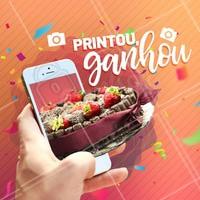 Promoção ESPECIAL: Na compra de um doce, apresente o print dessa publicação e ganhe uma água! #doces #ahazoutaste #doceria #brigadeiro