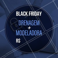 ⚠ Começou nosso #EspecialBlackFriday: VEM ⚠ Preços imperdíveis com vagas limitadas!   #blackfriday #especial #promo #promocao #bandbeauty #blackband #ahazou #braziliangal #sale #esteticacorporal