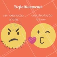 E ai? Qual você prefere? 😘 #depilacao #laser #enquete #pelelisinha #ahazou #bandbeauty