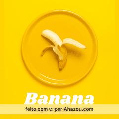 A banana é rica em potássio, por isso ajuda a regular a pressão sanguínea e é fundamental para a contração muscular. Ela também auxilia na reposição do mineral que é perdido no suor, principalmente durante o verão. #banana #ahazou #verão