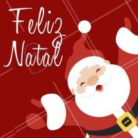 Feliz Natal é o que desejamos a todos os nossos clientes! Que a paz, o amor e a esperança estejam presentes nessa data tão especial! 🎅 #natal #datasespeciais #festas #ahazou #bandbeauty