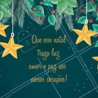 A mágica do natal está no ar e nós desejamos a todos os clientes dias felizes! Boas Festas 🎅 #natal #datasespeciais #festas #ahazou #bandbeauty