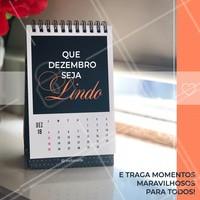 Dezembro chegou e queremos desejar que todos tenha um mês maravilhoso 🗓🙏 #Dezembro #Ahazou #December