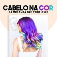 Renovar o visual faz bem pra autoestima! Se joga nas cores 💃 #hairstylist #colorimetria #bandbeauty #ahazou #beautyhair