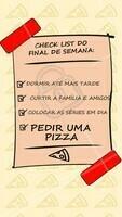 Fim de semana é hora de curtir, relaxar e claro: pedir uma pizza! Agora comentem aqui: quais são os planos de vocês para este fim de semana? #fimdesemana #ahazoutaste #pizzaria #pizza