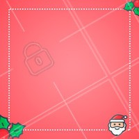 Use esta imagem no editor para criar sua mensagem de Natal para seus clientes!