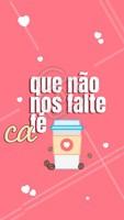 Nada como começar o dia com uma xícara de café ☕ #bomdia #ahazou #café
