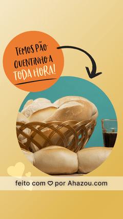 Nosso pãozinho é delicioso e crocante! Vem provar essa delícia <3 #ahazoutaste #foodlovers