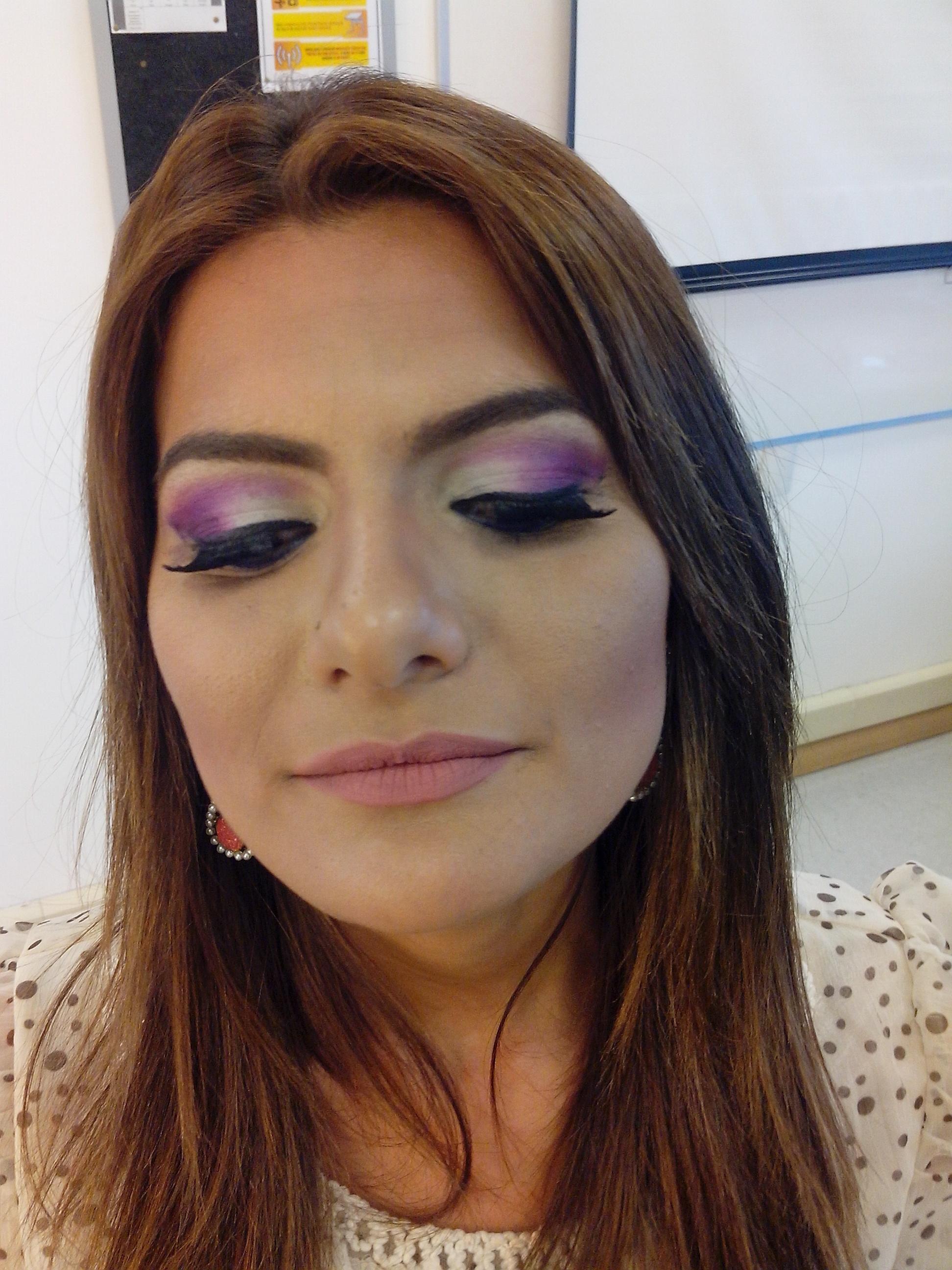 maquiagem, lilas maquiagem  maquiador(a)