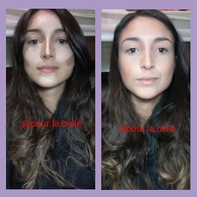 Um bom contorno faz toda a diferença *----* maquiagem, contorno esteticista cosmetólogo(a)