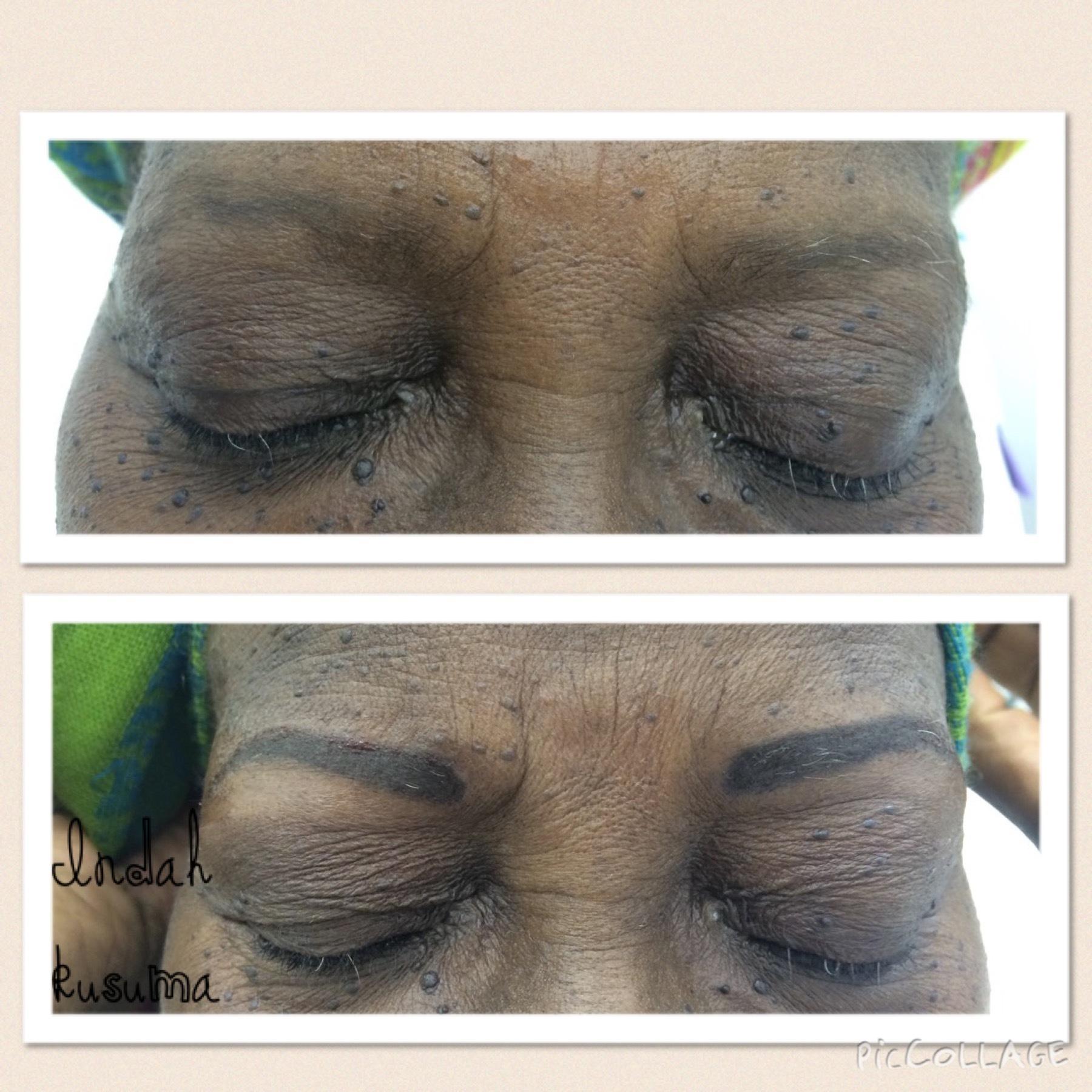 Micropigmentação  Tecnica esfumada  micropigmentação designer de sobrancelhas
