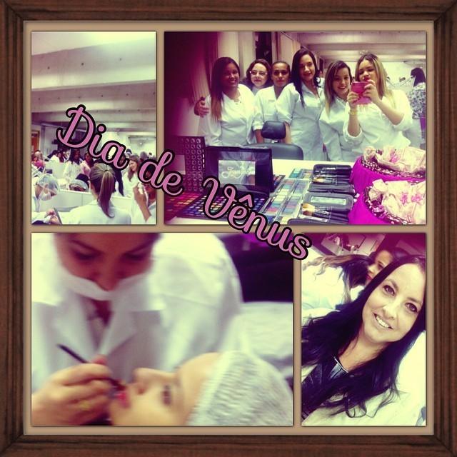 Dia de Vênus  Trabalho executado na faculdade com foco em massagem,maquiagem e beleza da mulher  esteticista