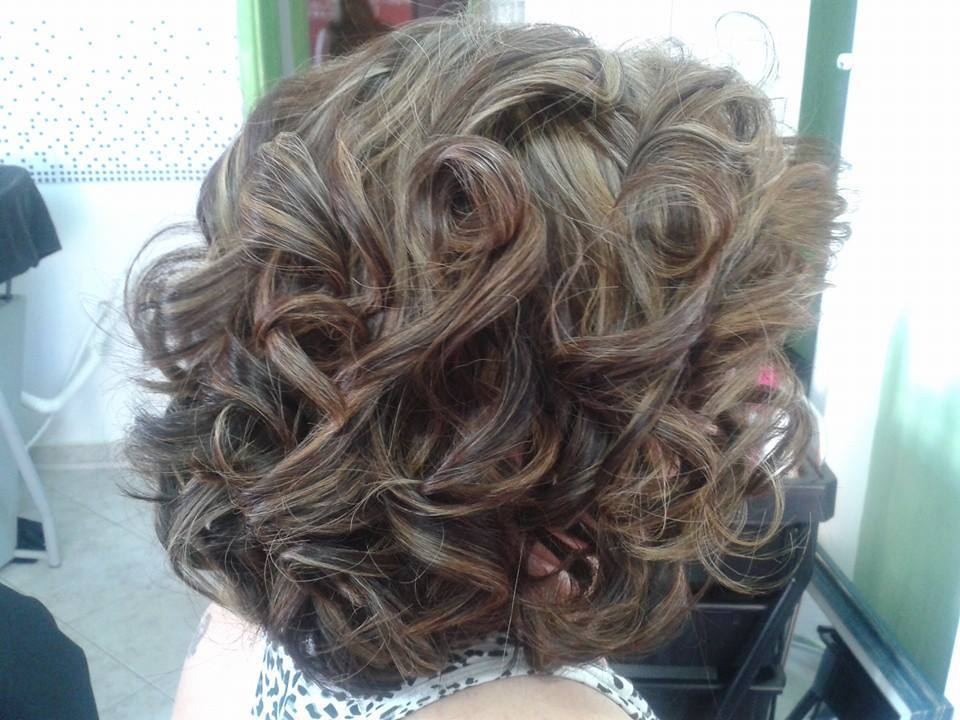 Escovas Modeladas penteado preso cabelo cabeleireiro(a) depilador(a) designer de sobrancelhas maquiador(a) esteticista