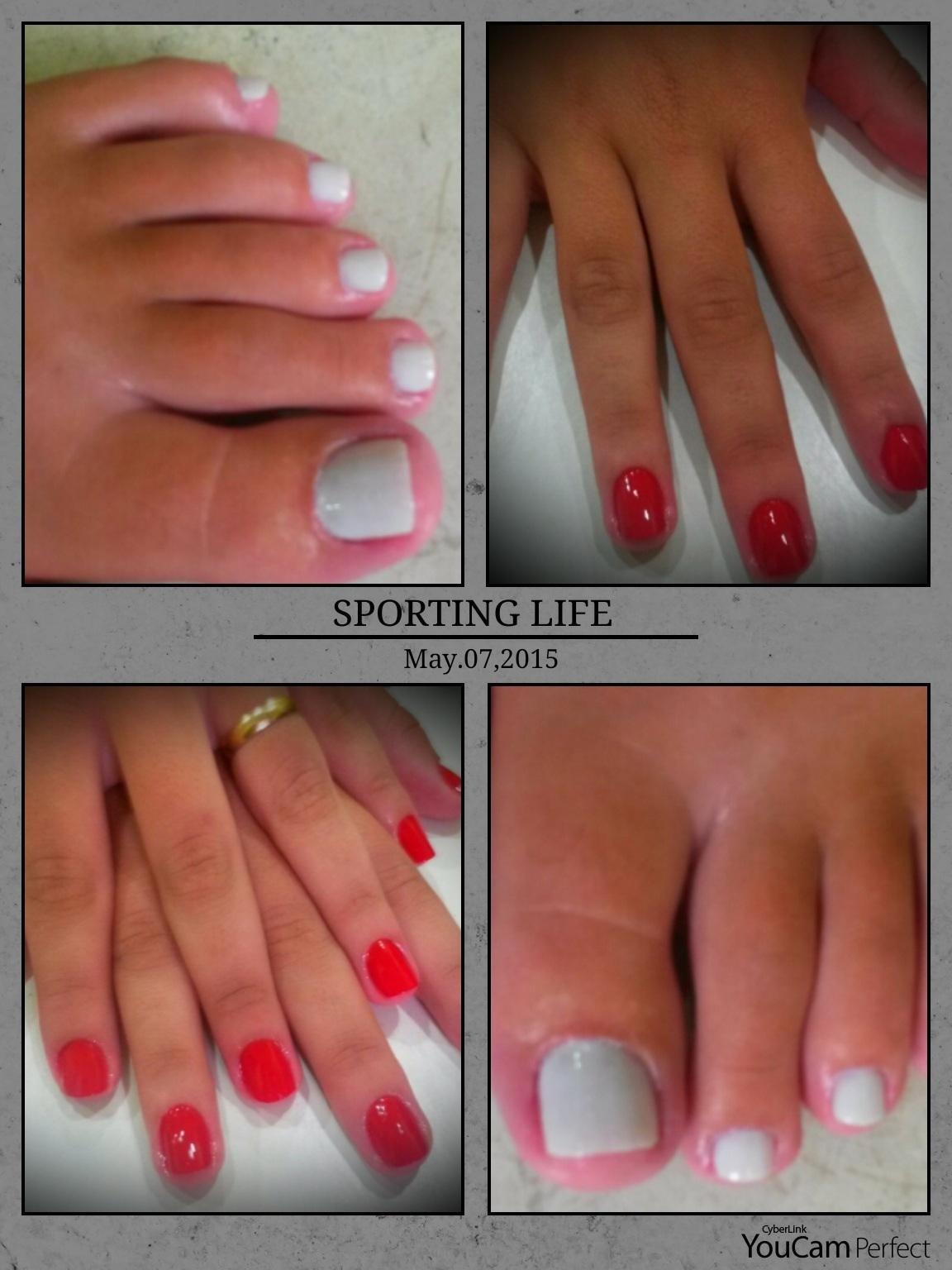 unhas da prova no curso  manicure e pedicure recepcionista