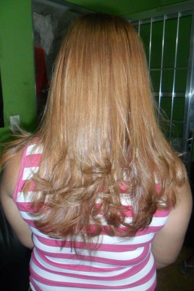 progressiva essa progressiva fiz o passo a passo dela a cliente saiu realizida auxiliar cabeleireiro(a) manicure e pedicure caixa