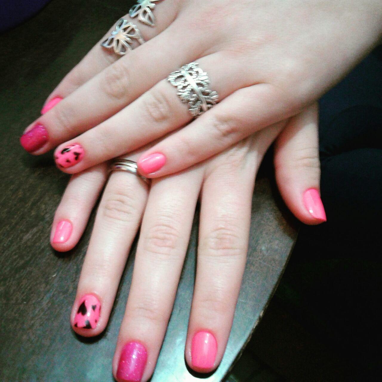 unhas que eu fiz  unhas, nail art, rosa auxiliar administrativo atendente assistente maquiador(a) auxiliar de limpeza caixa manicure e pedicure recepcionista outros