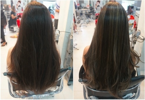 Iluminação Nesse caso foram feitos apenas alguns fios sutis em um tom mais claro apenas para produzir brilhos e iluminar o look  cabelo  cabeleireiro(a) maquiador(a)