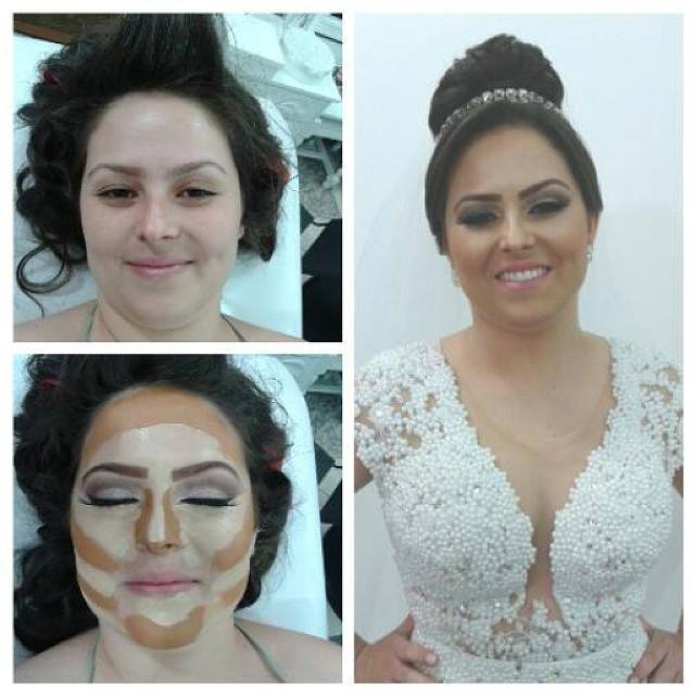 Make de Hair Noivas noiva, penteado preso maquiagem  maquiador(a) consultor(a) em imagem