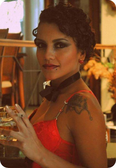 Maquiagem decada de 20 Projeto UAM Maquiagem atual para a década de 20 maquiagem artística maquiador(a) recepcionista