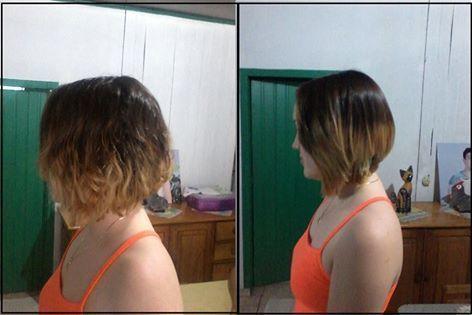 olha como era californianas, cabelo curto cabeleireiro(a)