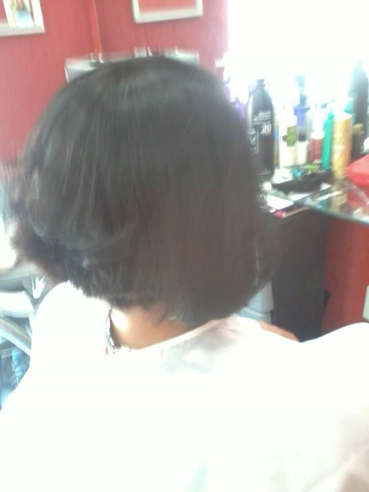 Corte chanel de bico cabeleireiro(a)