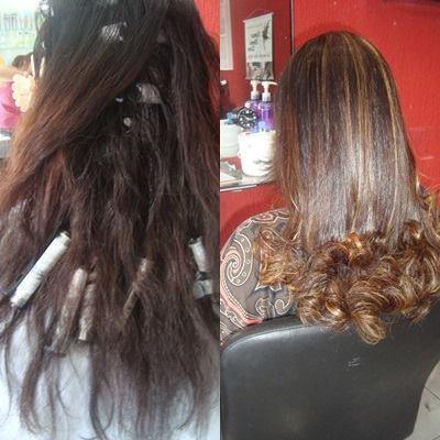 Luzes mel cabeleireiro(a)