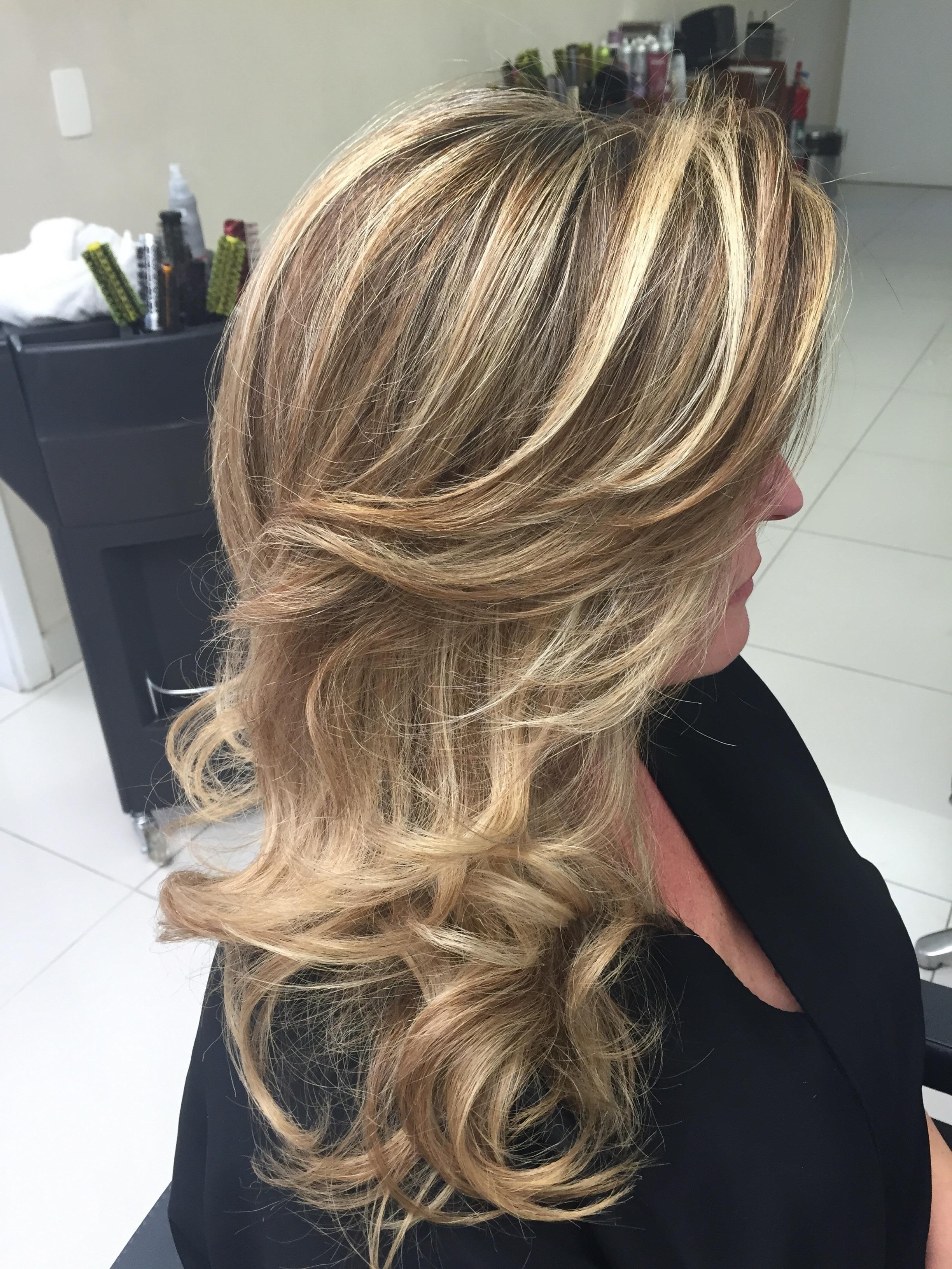 Mechas diamante loiro, luzes cabelo cabeleireiro(a)