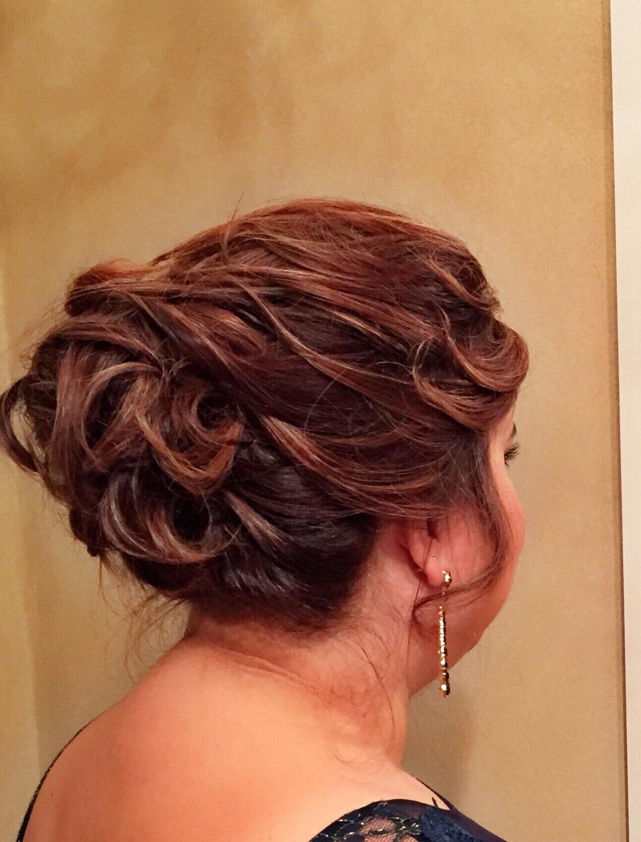 Coque elaborado penteado preso, coque cabelo cabeleireiro(a)