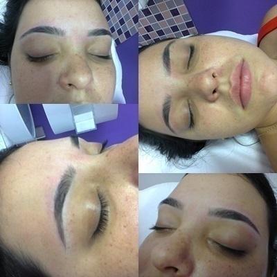 Design de sobrancelha Design simples. designer de sobrancelhas maquiador(a)