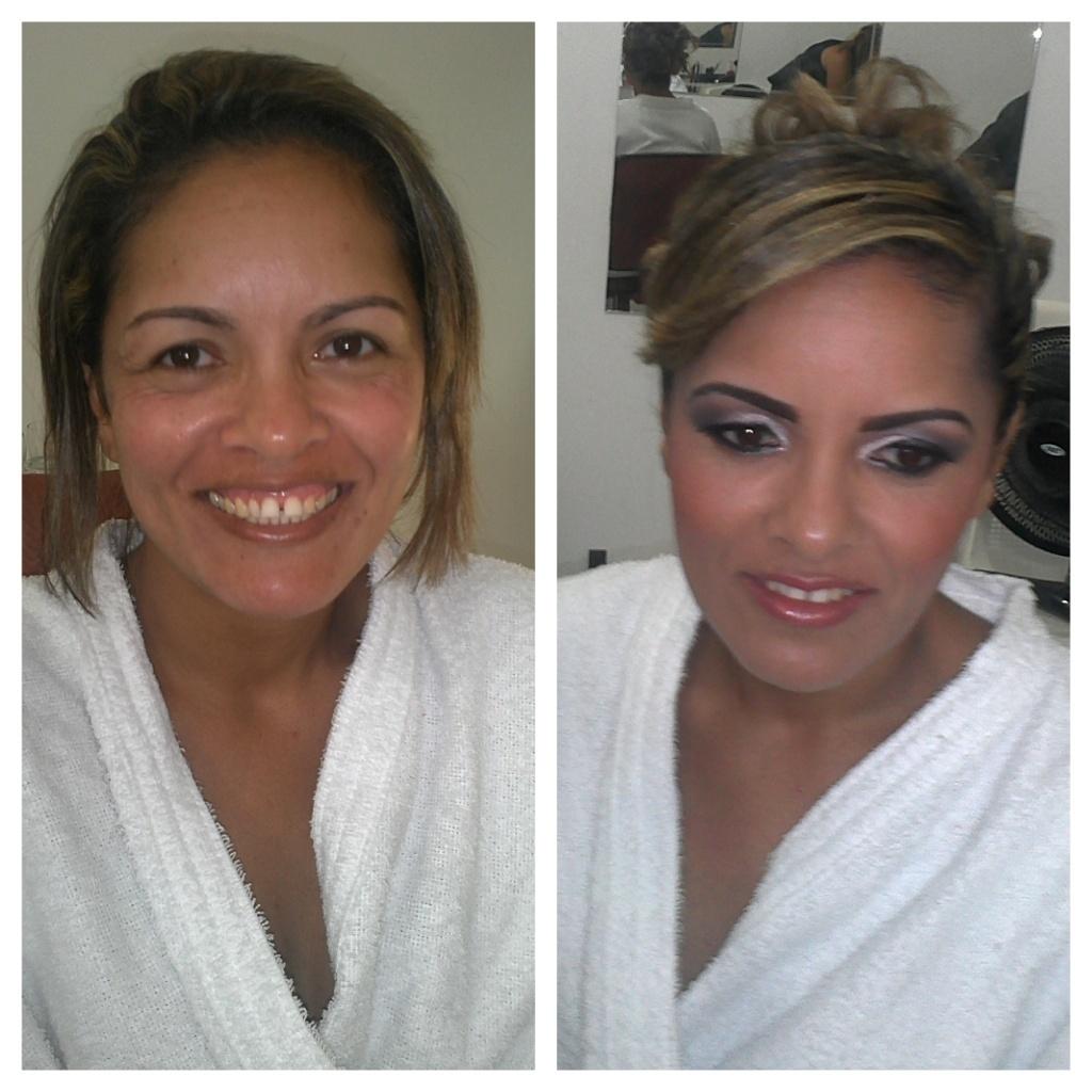 ANTES E DEPOIS NOIVA maquiador(a)