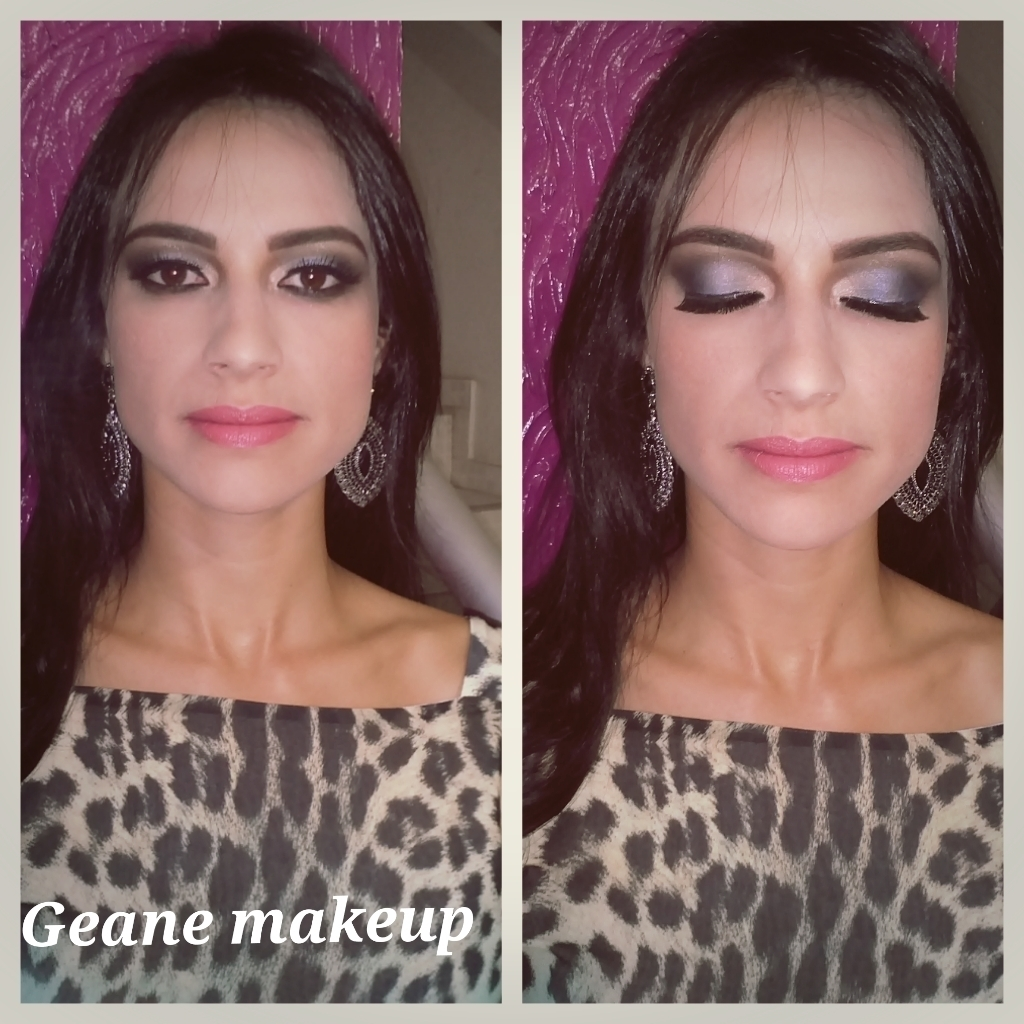 maquiagem cinza maquiador(a)