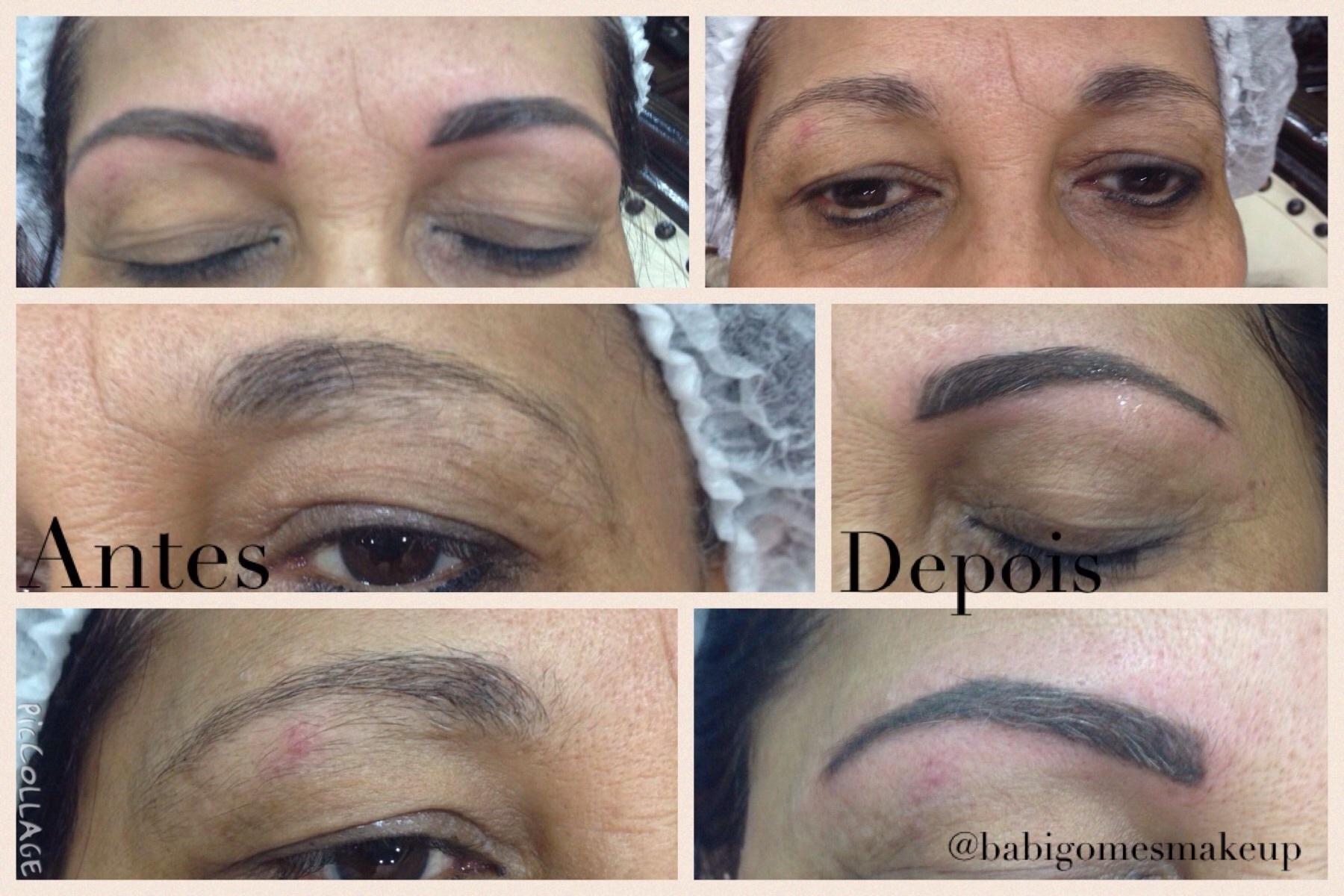 Micropigmentação  Design de sobrancelhas  estética  dermopigmentador(a) designer de sobrancelhas maquiador(a) micropigmentador(a)
