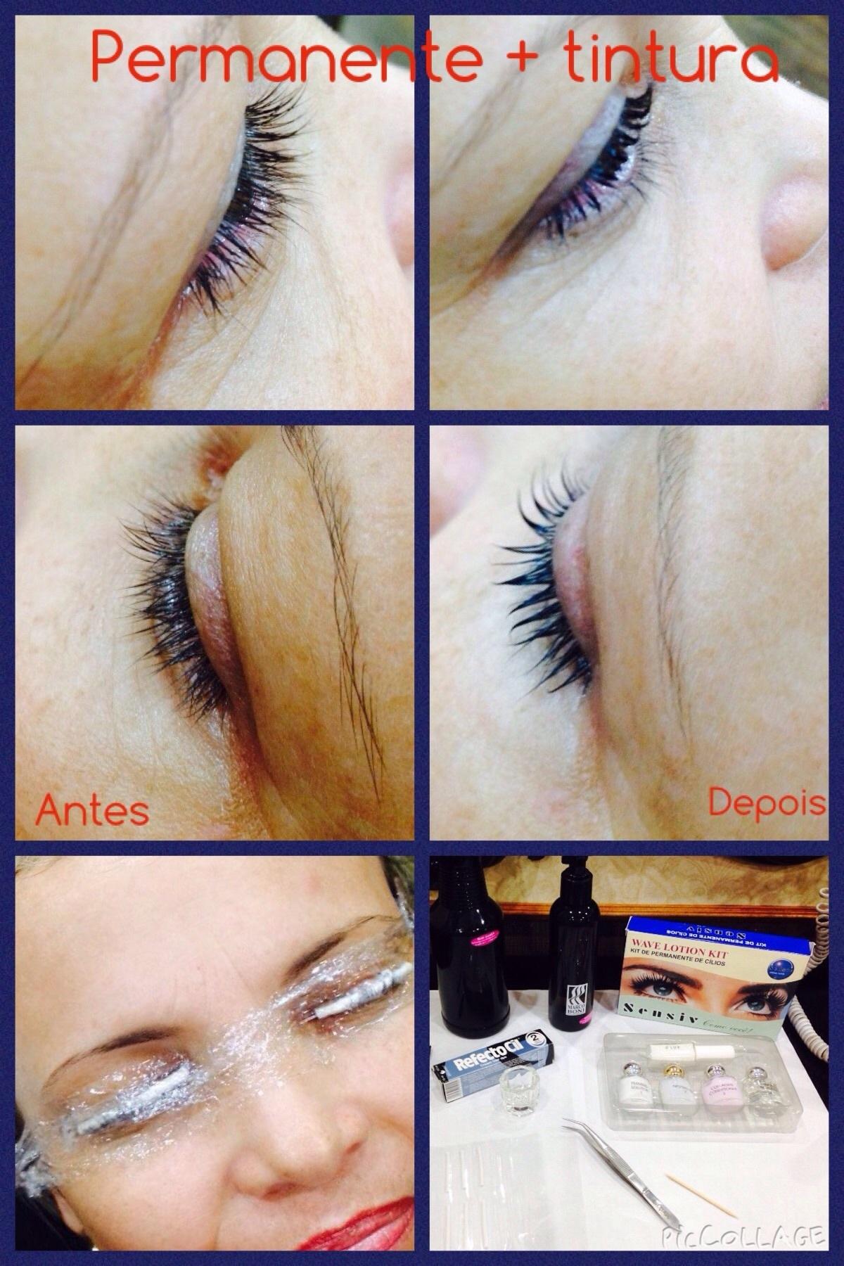 Permanente e tintura de cílios  dermopigmentador(a) designer de sobrancelhas maquiador(a) micropigmentador(a)