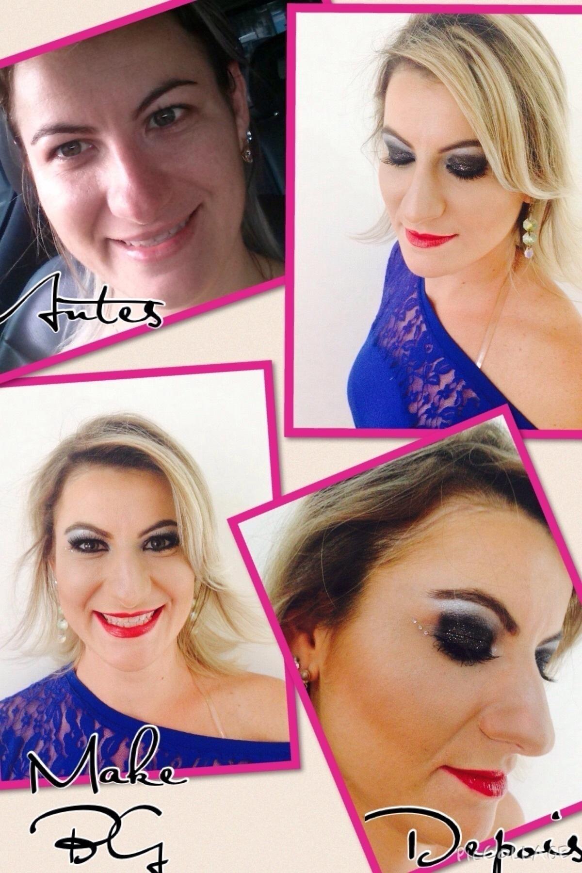 Maquiagem para apresentação de dança  dermopigmentador(a) designer de sobrancelhas maquiador(a) micropigmentador(a)