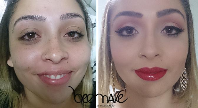 MAKEUP maquiador(a) designer de sobrancelhas