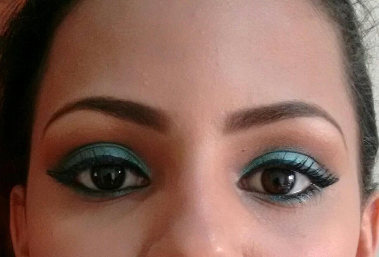 Maquigem para seção de foto! Este maquiagem foi feita para um seção de fotos de uma das candidata para a Rainha da expovil! maquiagem, verde água maquiador(a)