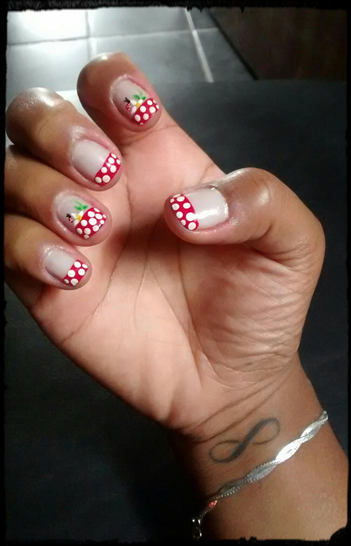 joaninha #UnhasDecoradas Joaninha #NailArt #DecoradaaMão manicure e pedicure
