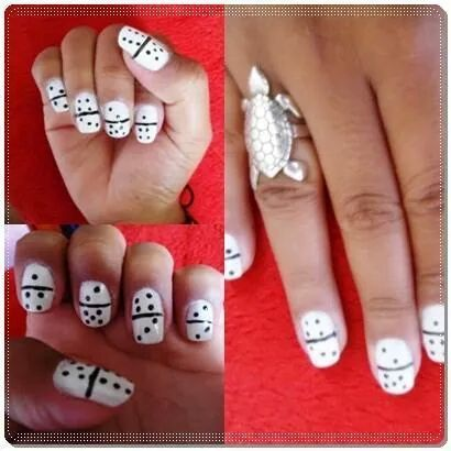 dominó #UnhasDecoradas Domino