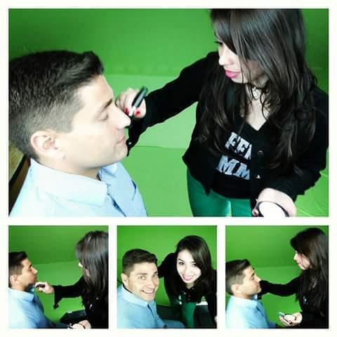 Maquiagem Masculina - cinematográfica maquiador(a) consultor(a) designer de sobrancelhas