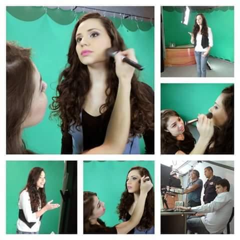 maquiagem para videos  gravação de comercial com Francis Helena (ex chiquitita) maquiador(a) consultor(a) designer de sobrancelhas