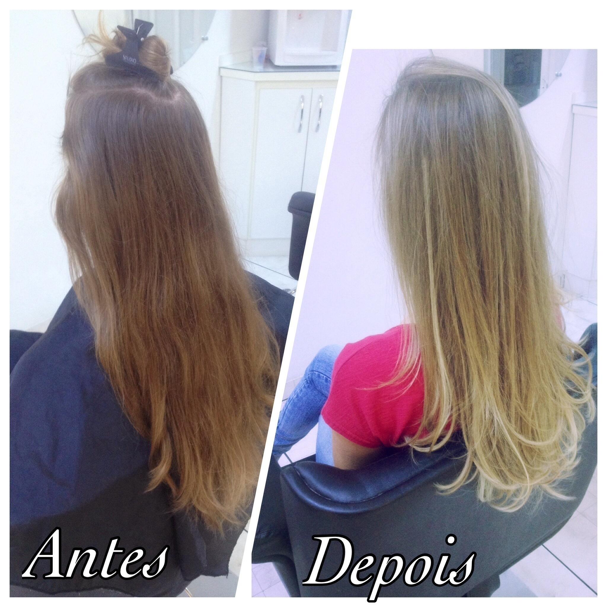 Mechas ombre Hair  Transformação de cor  cabeleireiro(a) empresário(a) / dono de negócio esteticista escovista visagista