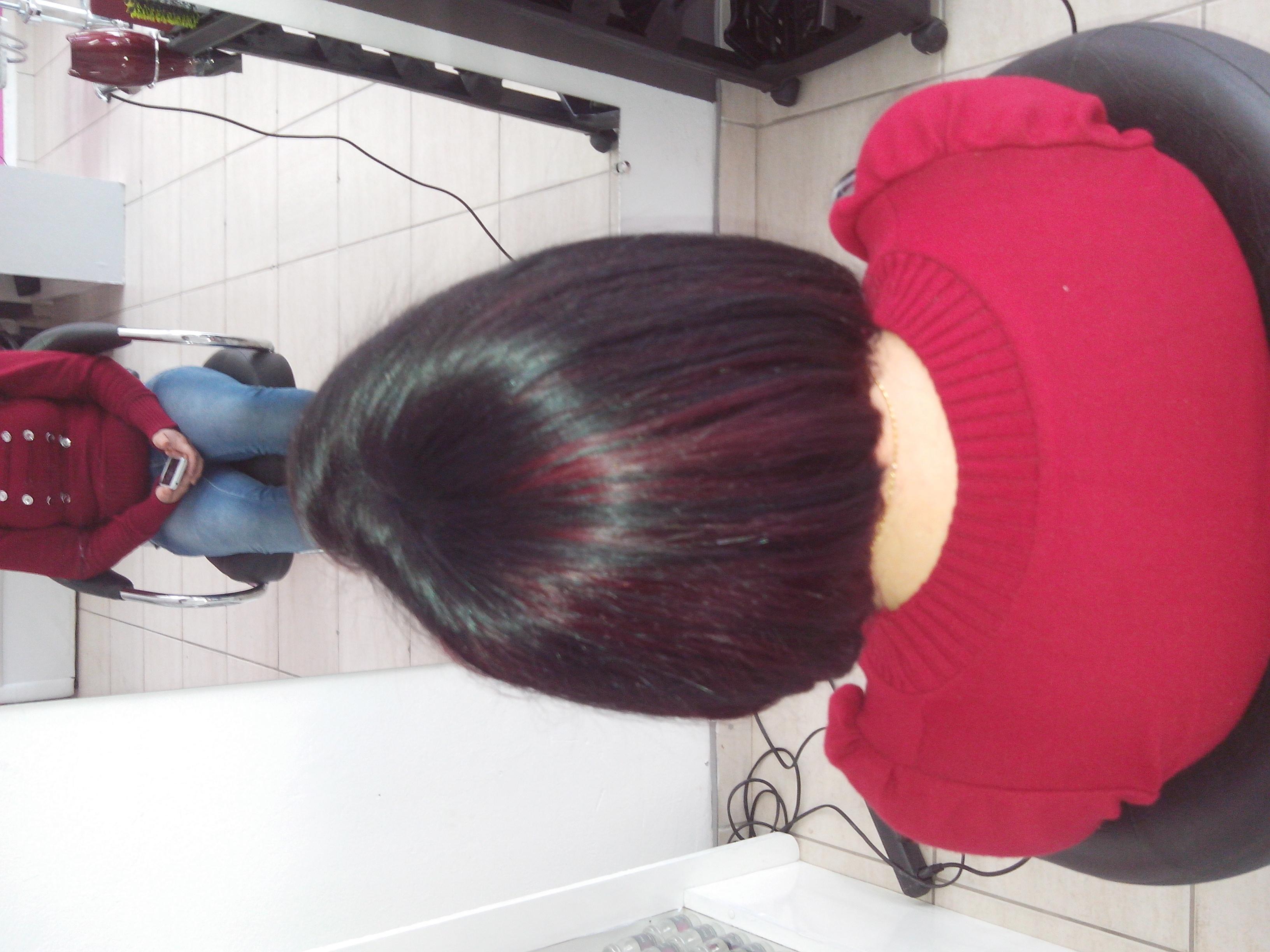 Coloração+Corte cabeleireiro(a)