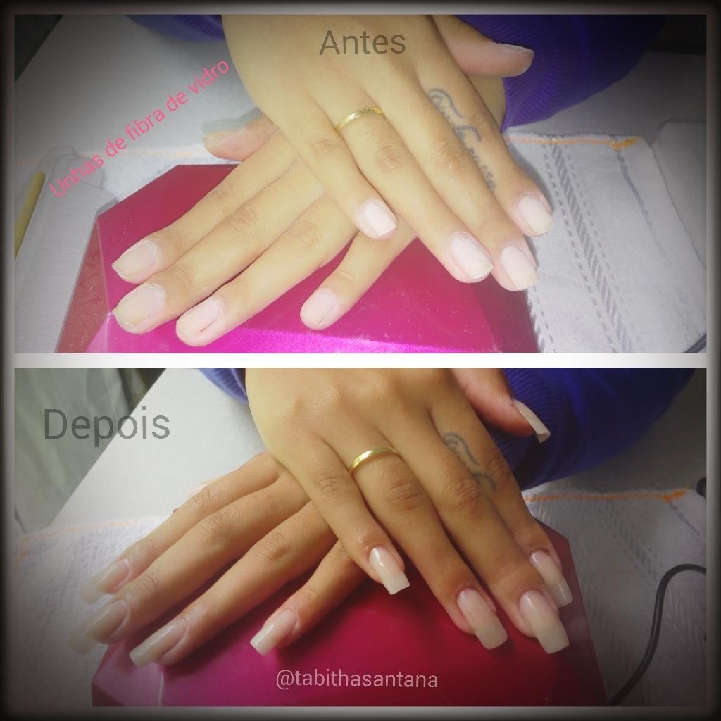 Unhas em gel  unhas  manicure e pedicure