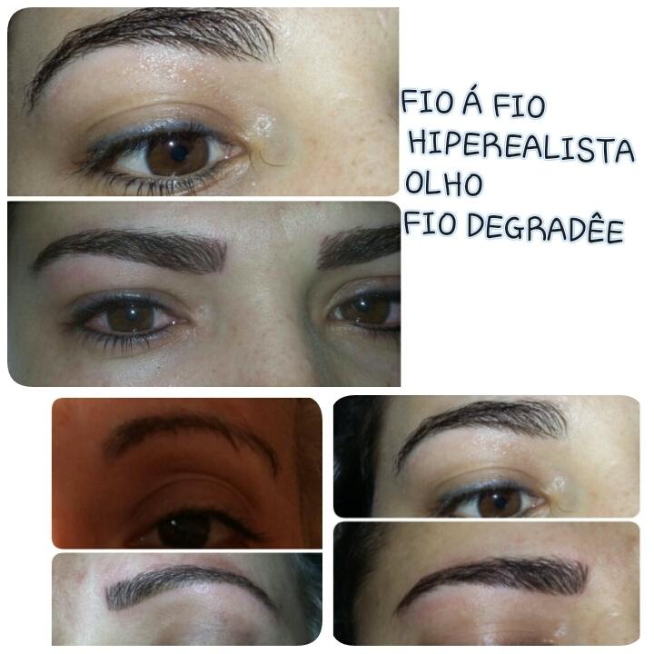 Efeitos de um MICROPIGMENTAÇÃO maquiador(a) micropigmentador(a) designer de sobrancelhas treinamentos cabeleireiro(a) dermopigmentador(a) outros