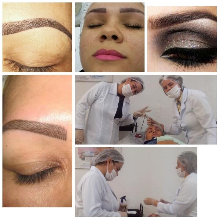 Cursos maquiador(a) micropigmentador(a) designer de sobrancelhas treinamentos cabeleireiro(a) dermopigmentador(a) outros